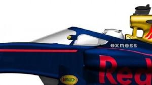 Formula 1, la Red Bull testa il parabrezza FOTO