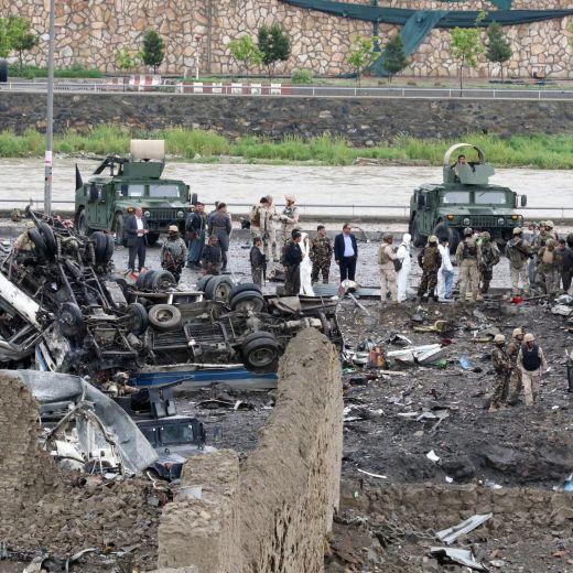 Afghanistan, attacco suicida a Kabul (13)