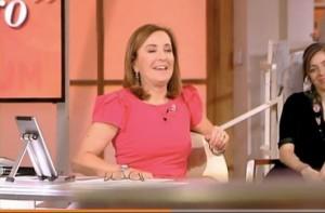 """Guarda la versione ingrandita di Barbara Palombelli: """"Razzisti? Quasi sempre laziali"""" VIDEO"""