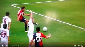 YouTube, Cagliari-Livorno 2-2: highlights-video gol Serie B