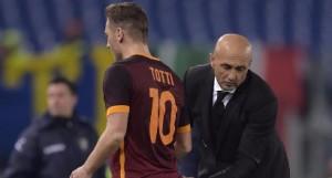 Totti-Spalletti, lite nel post partita davanti a spogliatoi