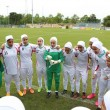 Calciatrici col velo debuttano: in campo Iran-Usa9