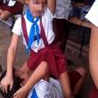 Cuba, bambini ballano twerking a scuola 4