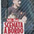 Francesco Totti-Ilary Blasi, lite durante partita Cristian
