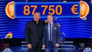 Gerry Scotti: concorrente vince 87mila euro, ma...
