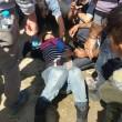Idomeni: lacrimogeni contro migranti2