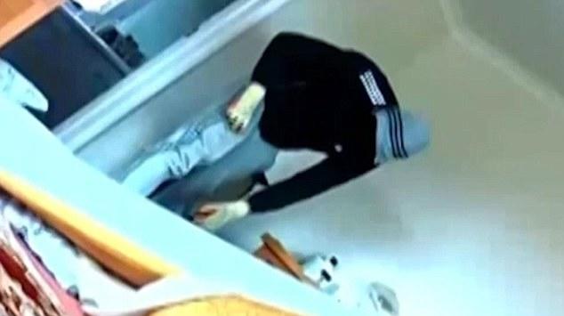 Ladri in casa, telecamera riprende tutto5