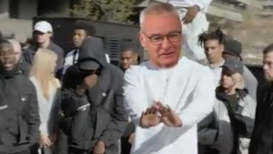 Leicester, Dilly ding Dilly dong rap Ranieri virale2