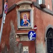 Madonna, volto popstar al posto della Vergine a Roma FOTO2