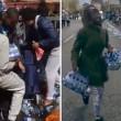 Pubblico ruba acqua minerale durante Maratona Londra5
