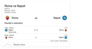 Roma-Napoli, streaming-diretta tv: dove vedere Serie A