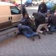Rapinano Poste, polizia riprende tutto e li arresta2