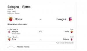 Roma-Bologna streaming-diretta tv: dove vedere Serie A
