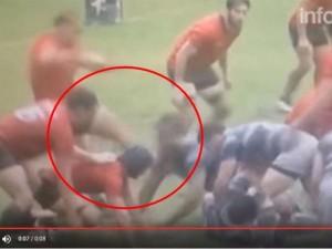 YOUTUBE Rugby, calcio in faccia: squalificato per 99 anni