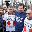 """Salvini sotto casa Fornero: """"Chieda scusa per legge6"""