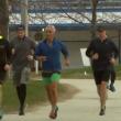 YOUTUBE Matteo Renzi fa jogging con Rahm Emanuel a Chicago 3