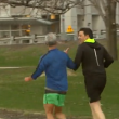YOUTUBE Matteo Renzi fa jogging con Rahm Emanuel a Chicago 5