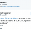 Fabrizio Bracconeri, gaffe su Giulio Regeni su Twitter 5