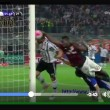 Mario Balotelli video gol di mano Milan-Juventus: ammonito