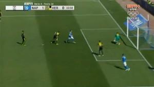 Manolo Gabbiadini video gol Napoli-Verona