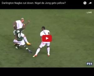 YouTube, Nigel De Jong entrata killer contro Portland
