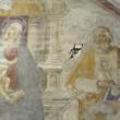Napoli, operaio trapana muro e buca affresco del '500 FOTO 4