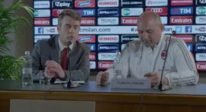 Milan, John Maori come motivatore. Ma è pubblicità VIDEO