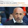 Lite Spalletti-Totti. Striscione tifosi pro capitano ma tecnico smentisce