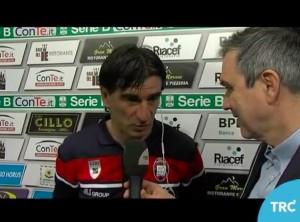 """Crotone, Juric a giornalista di Modena: """"Sono c...i vostri"""""""