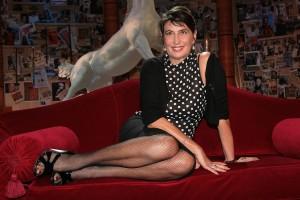 Serena Dandini e il volo Vueling in ritardo: capo rivolta o?