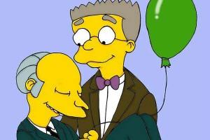 YOUTUBE Simpson, Smithers si dichiara gay