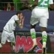 Vieirinha, dente salta durante Wolfsburg-Real Madrid FOTO_1
