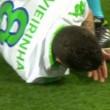 Vieirinha, dente salta durante Wolfsburg-Real Madrid FOTO_2