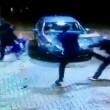 VIDEO YOUTUBE Calci e pugni a ragazzo svenuto a terra poi... 3