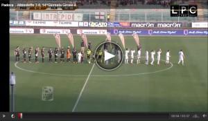 AlbinoLeffe-Padova Sportube: streaming diretta live