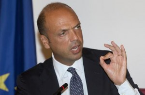 Angelino Alfano (foto Ansa)