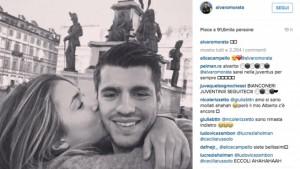 Guarda la versione ingrandita di Alice Campello – Alvaro Morata: foto su Instagram