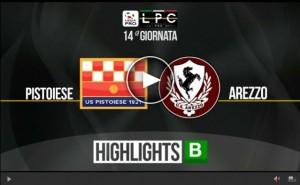Arezzo-Pistoiese Sportube: streaming diretta live