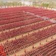 Kung fu, enormi figure realizzate da 26mila allievi8