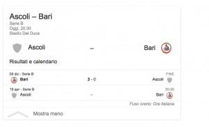 Ascoli-Bari, streaming-diretta tv: dove vedere Serie B