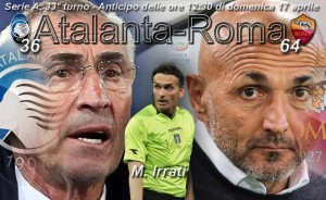 Atalanta-Roma diretta. Formazioni ufficiali e video gol