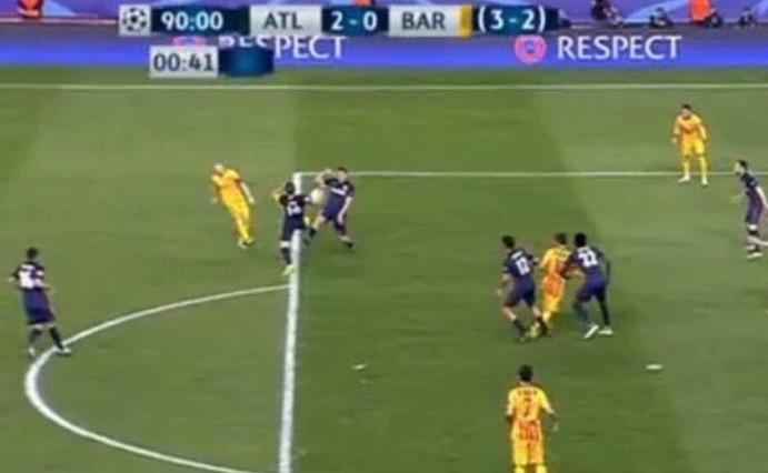 Atletico Madrid-Barcellona Rizzoli Rigore video foto_4