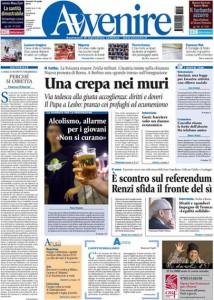 Guarda la versione ingrandita di Libia, canone Rai: le prime pagine dei giornali