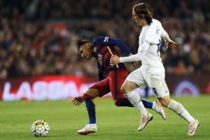Guarda la versione ingrandita di Barcellona-Real Madrid 1-2 highlights: Cristiano Ronaldo gol