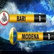 YouTube, Bari-Modena 1-1: highlights Serie B. Rosina che gol