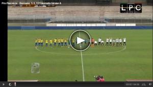 Bassano-Pro Piacenza Sportube: streaming diretta live
