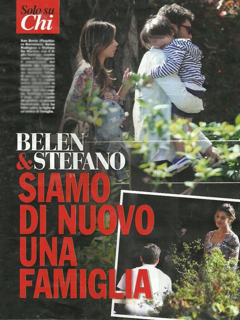 Belen Rodriguez e Stefano De Martino di nuovo insieme: FOTO