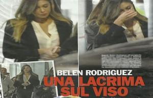 Belen Rodriguez e la foto pubblicata da Chi