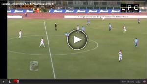 Benevento-Catania Sportube: streaming diretta live