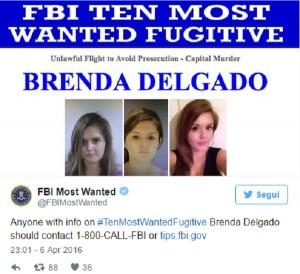 Brenda Delgado, la fuggitiva più bella del mondo